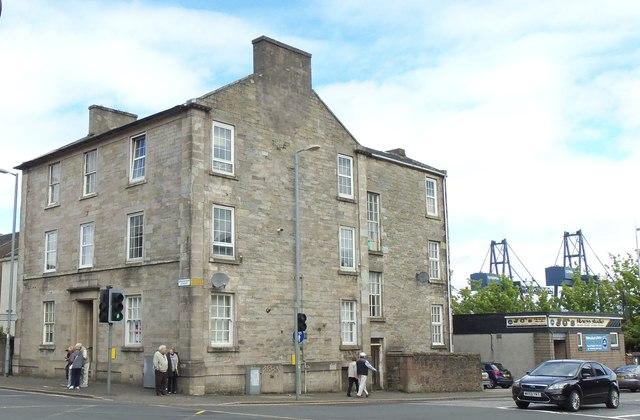 Villas on Patrick Street and Brougham Street Corner, Greenock
