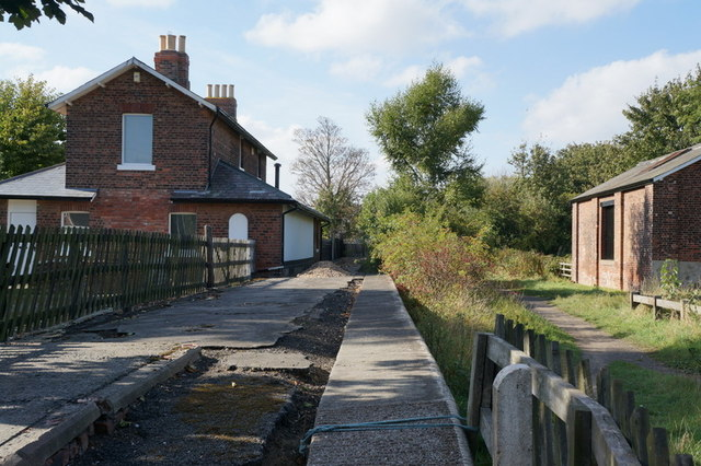 The former Hedon Train Station, Hedon