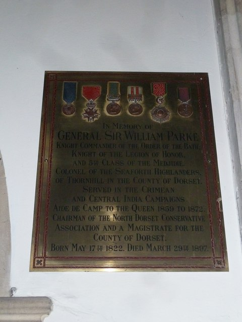 St Mary, Stalbridge: memorial (5)