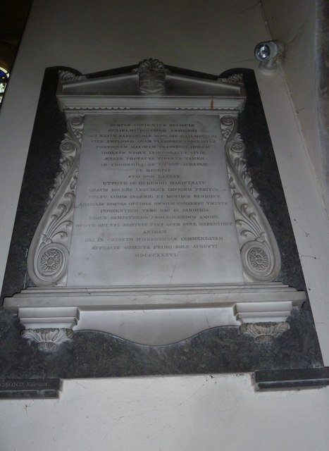 St Mary, Stalbridge: memorial (6)