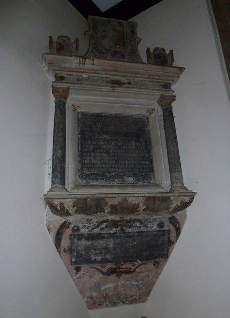St Mary, Stalbridge: memorial (8)