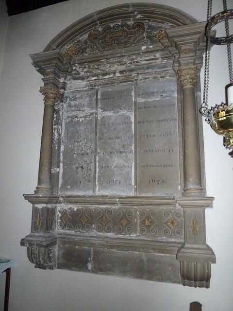 St Mary, Stalbridge: memorial (14)