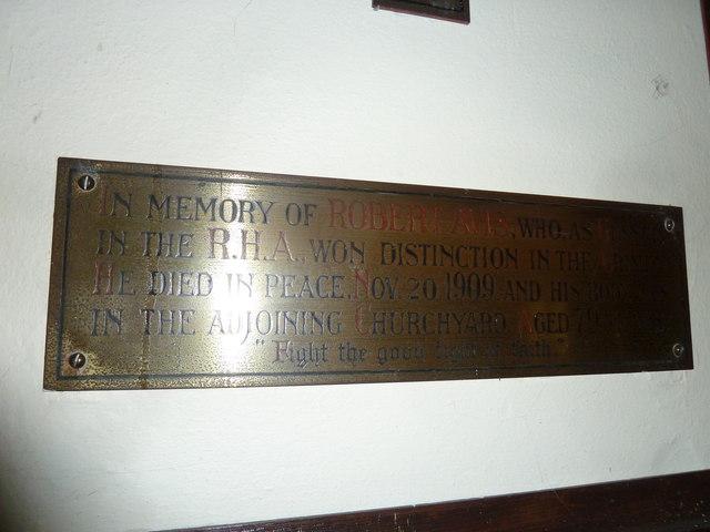 St Mary, Stalbridge: memorial (12)