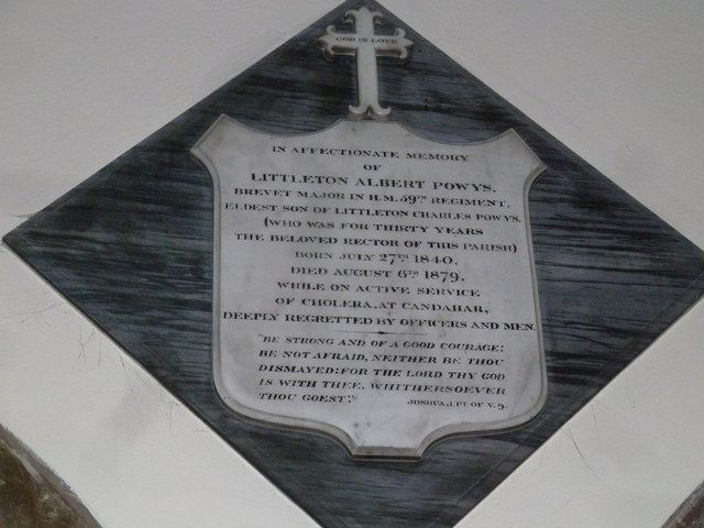St Mary, Stalbridge: memorial (13)
