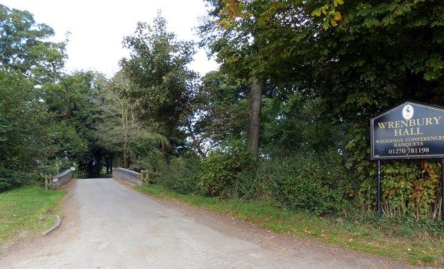 Entrance to Wrenbury Hall