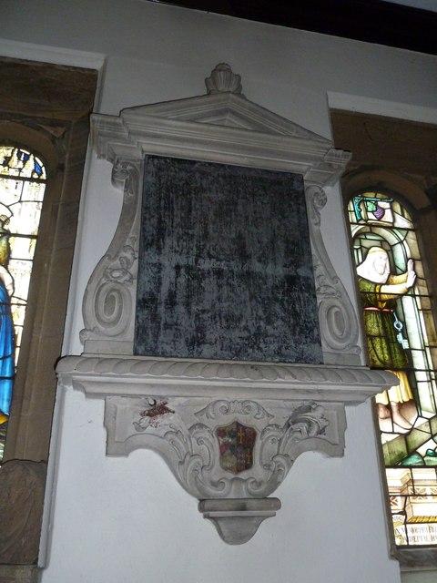 St Mary, Stalbridge: memorial (16)