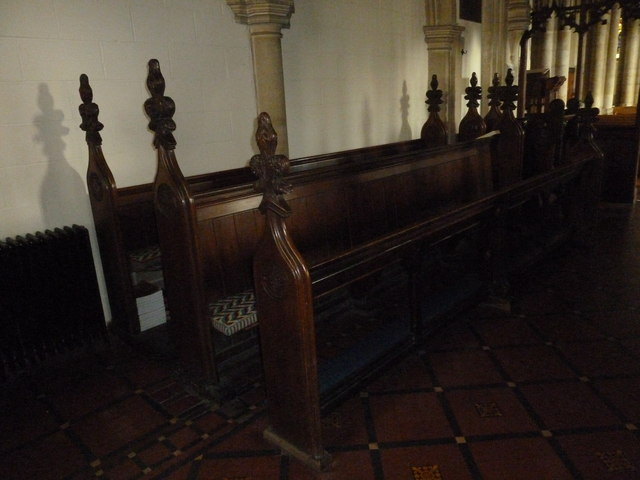 St Mary, Stalbridge: choir stalls