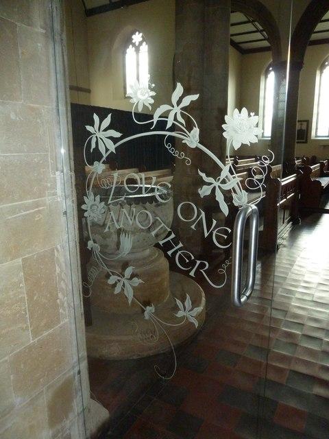 St Mary, Stalbridge: entrance