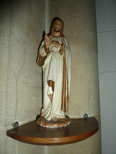 St Mary, Stalbridge: statue (b)