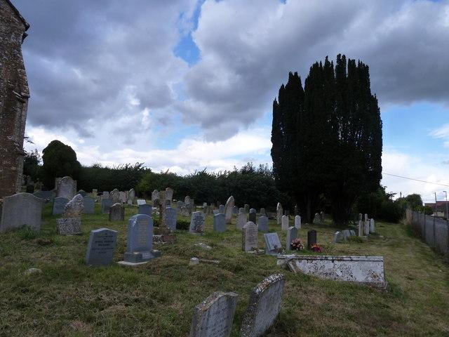 St Mary, Stalbridge: churchyard (4)