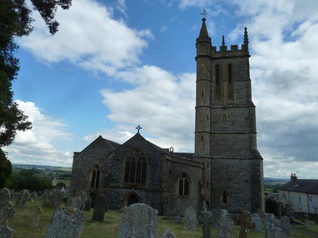 St Mary, Stalbridge: churchyard (8)