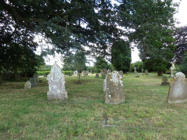 St Mary, Stalbridge: churchyard (11)