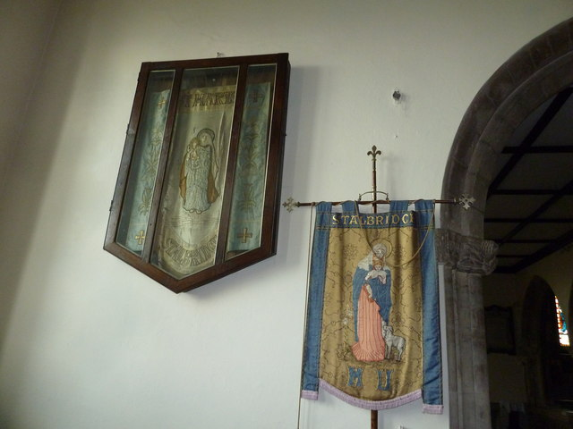 St Mary, Stalbridge: banner