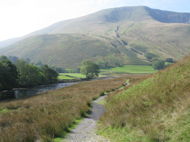 River Rawthey and Path to Cautley Spout