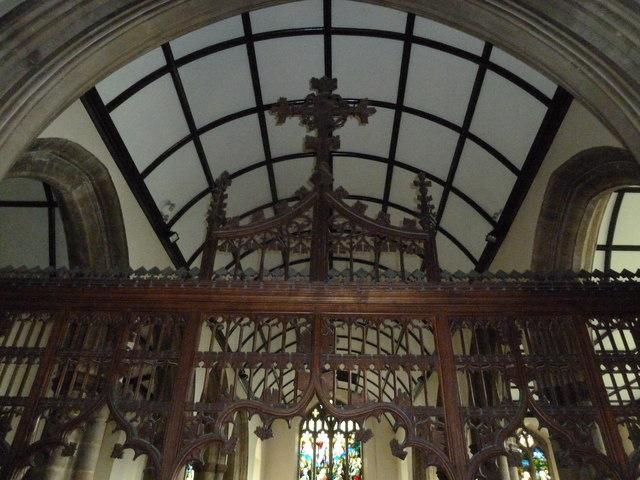 St Mary, Stalbridge: rood screen