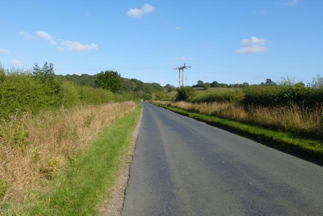 Road to Bishop Wilton