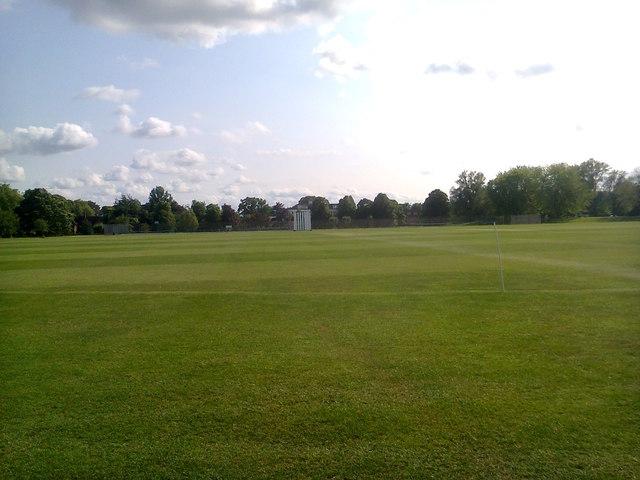 Churchill College, Cambridge - Cricket Ground