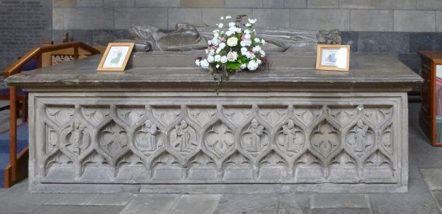 Paisley Abbey: tomb of Marjory Bruce