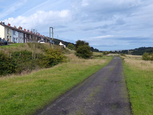 Former railway track, Bedwellty Pits