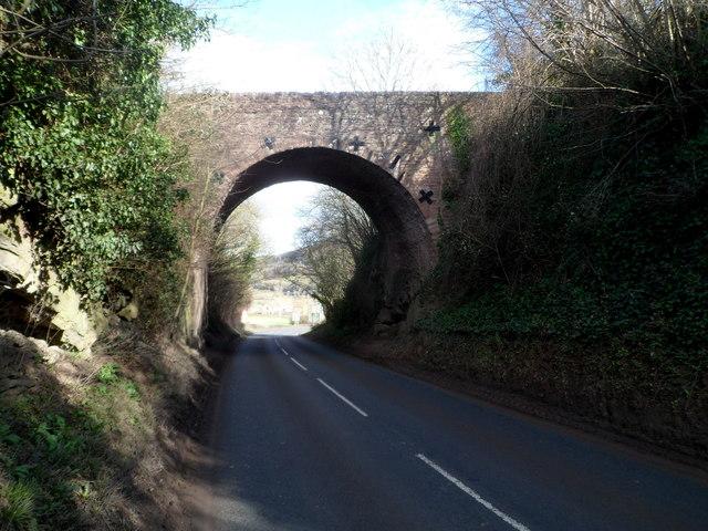 High bridge in Goodrich