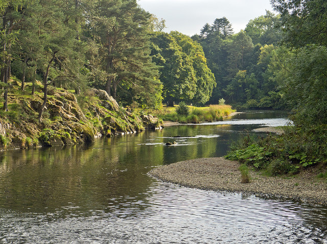 A bend in the River Tweed