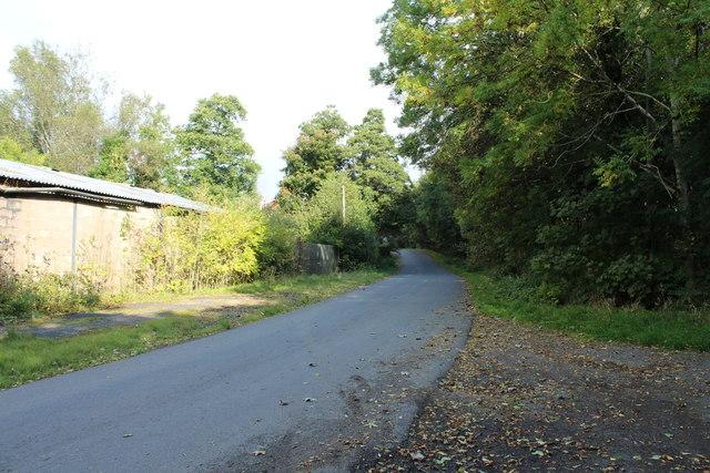 Road to Crosshill at Balsaggart