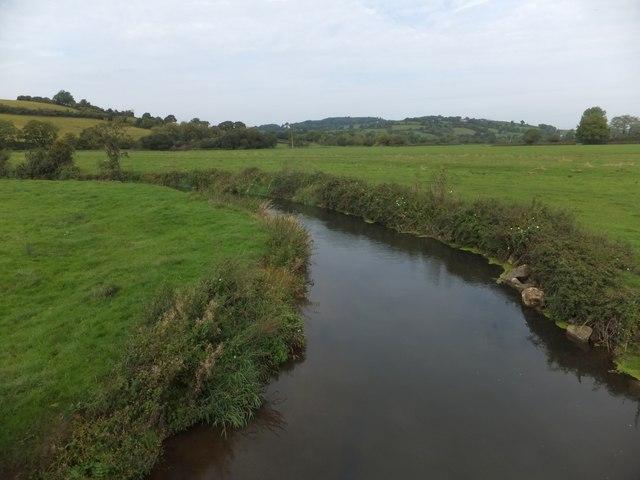 River Axe from Nunford Bridge