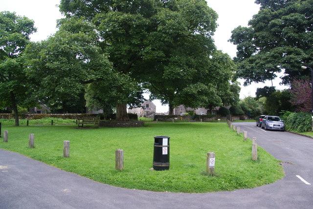 Village green at Alstonefield