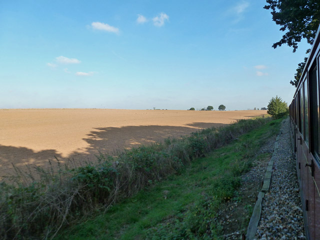 Field by Bure Valley Railway