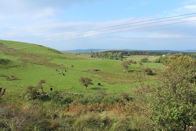 Farmland near Meikle Hill
