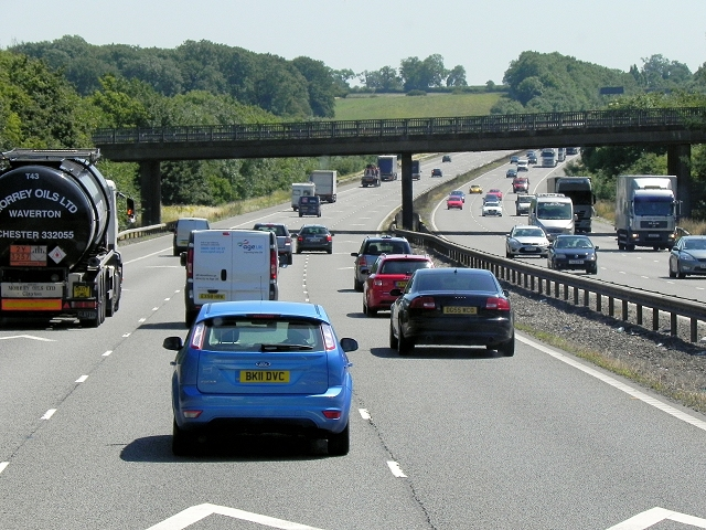 Bridge (B4428) over the M6