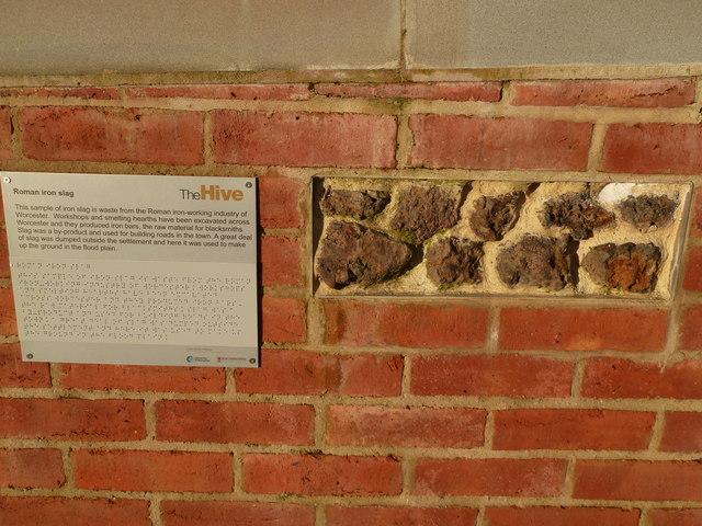 Roman iron slag - Worcester