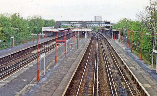 Hither Green station, 1992