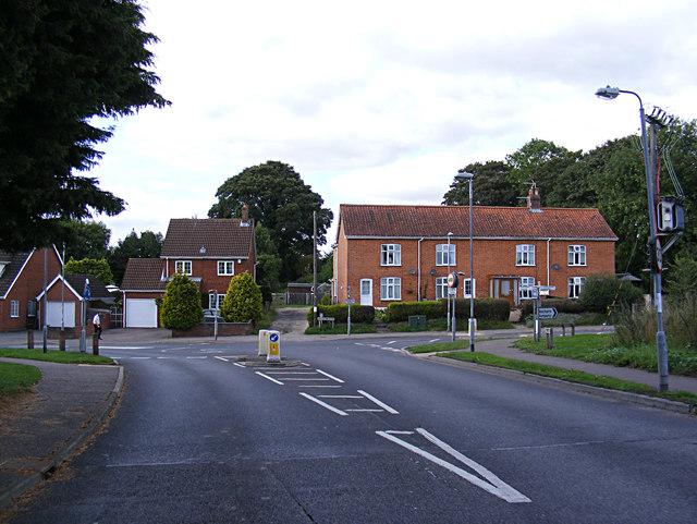 Hall Lane, Drayton