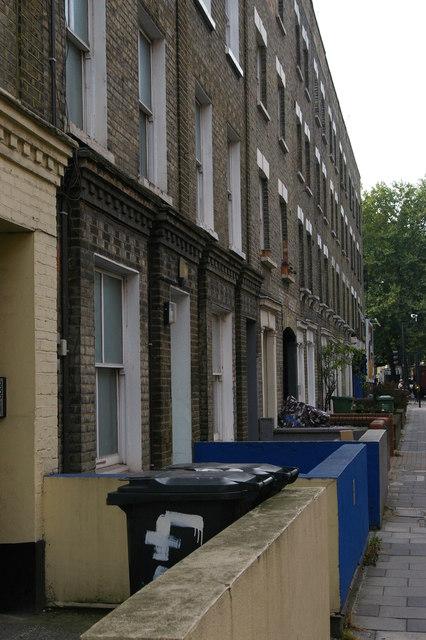 Terraced houses, Caledonian Road