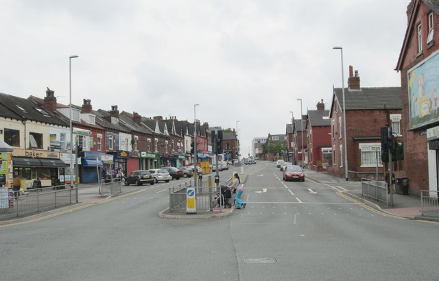 Harehills Lane - viewed from Foundry Approach
