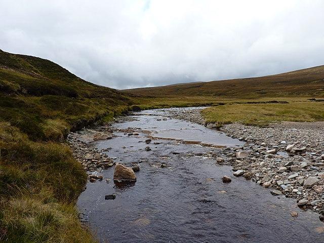 The Feshie Water - upstream