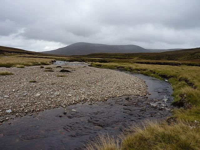 The Feshie Water - downstream