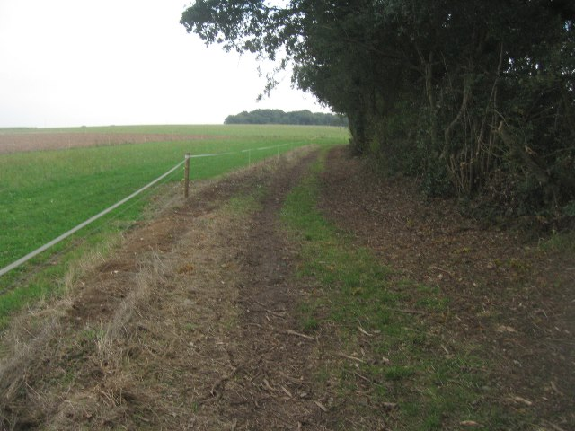 Bridleway towards Balstone Farm