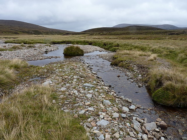 Confluence with the Feshie Water