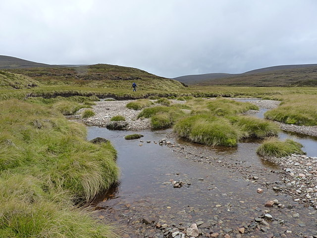 Walking ever further up the Feshie Water