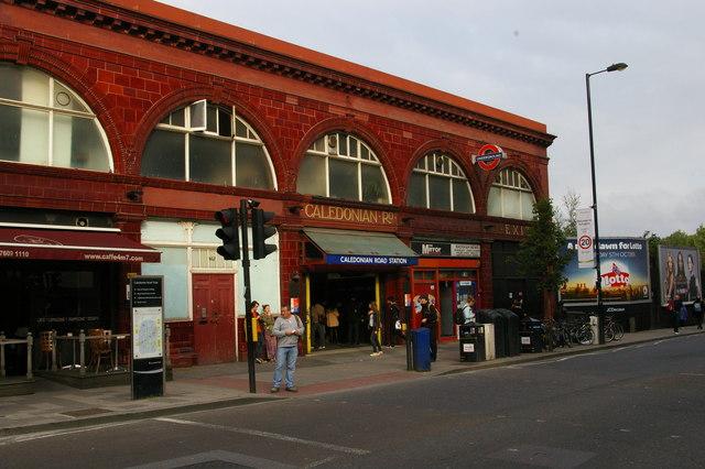 Caledonian Road underground station
