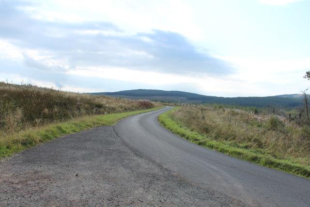 Road to Glentrool near Craigens