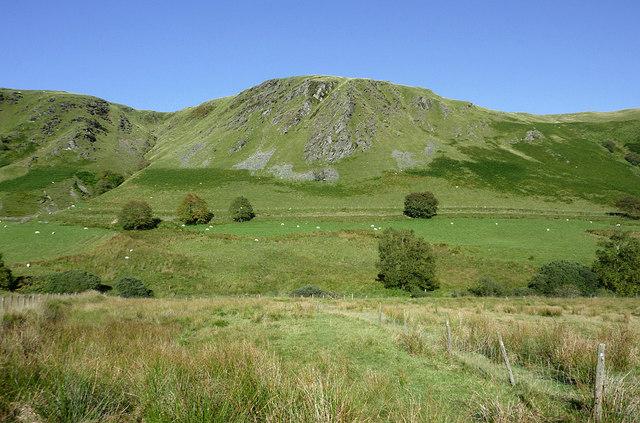 Cwm Tywi north of Dolgoch. Ceredigion