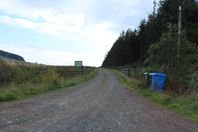 Road to Glenalla Farm