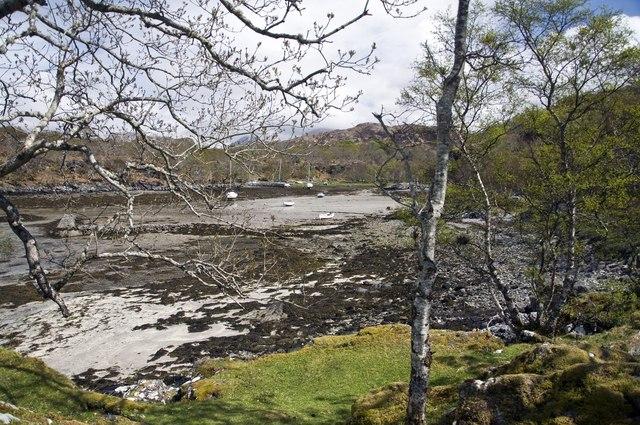 Inlet near Glen Uig