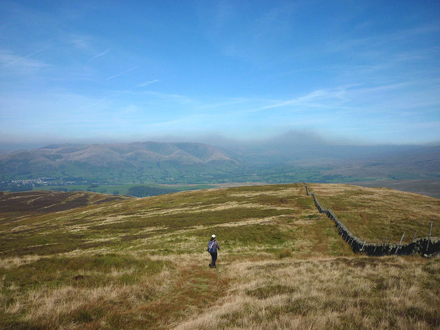 On the ridge between Barkin Top and Combe Top