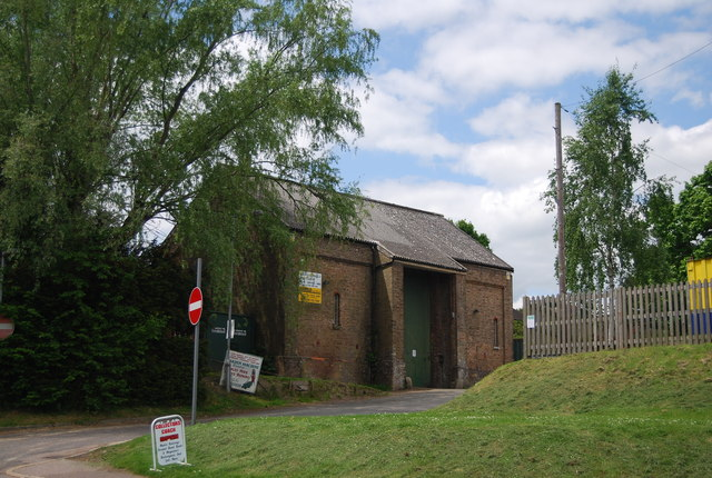 An old railway shed