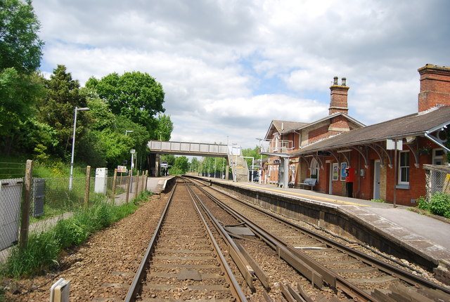 The Hastings Line, Robertsbridge Station