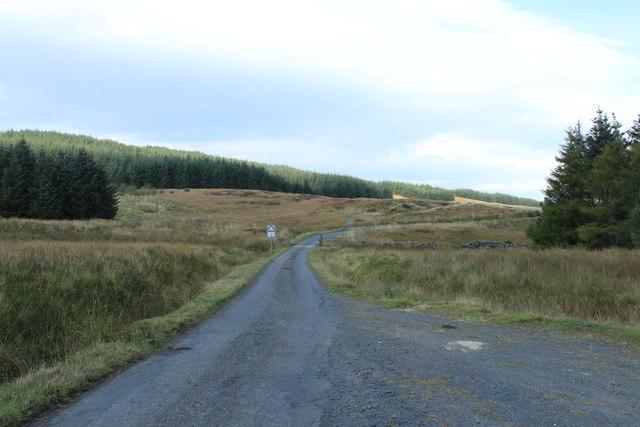 Road to Crosshill at Palmullan Bridge